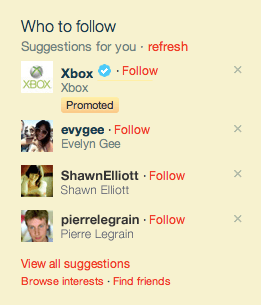 Lo nuevo de Twitter Promoted Products
