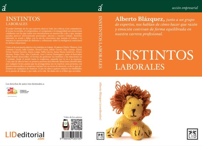 Instintos laborales, un libro sobre el marketing humano de la cotidianidad
